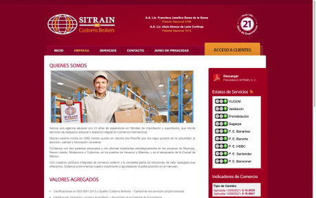 Agencia Aduanal Sitrain, S.C.