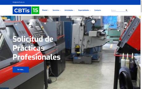 CBTis No. 15 - Cd. Mante, Tamaulipas